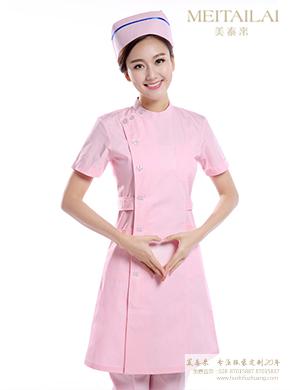 <b>春秋季粉色护士服定做</b>