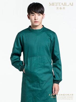 深绿色手术服