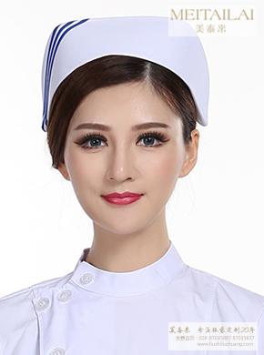 简约 白色护士帽