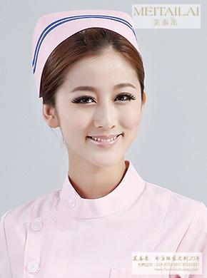 粉色护士帽