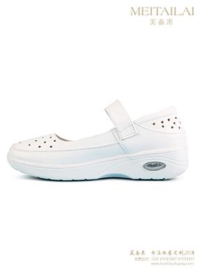 白色透气护士鞋