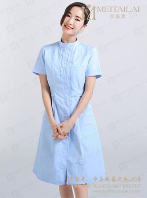 夏季多色护理服 短款清凉护理制服定做