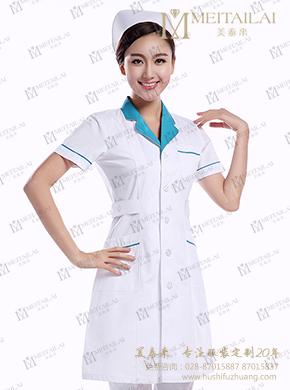 护士服分体短袖套装