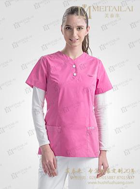 拼色护士服
